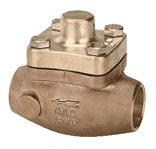 REGO Check Valves serie 8500 for cryogenics services